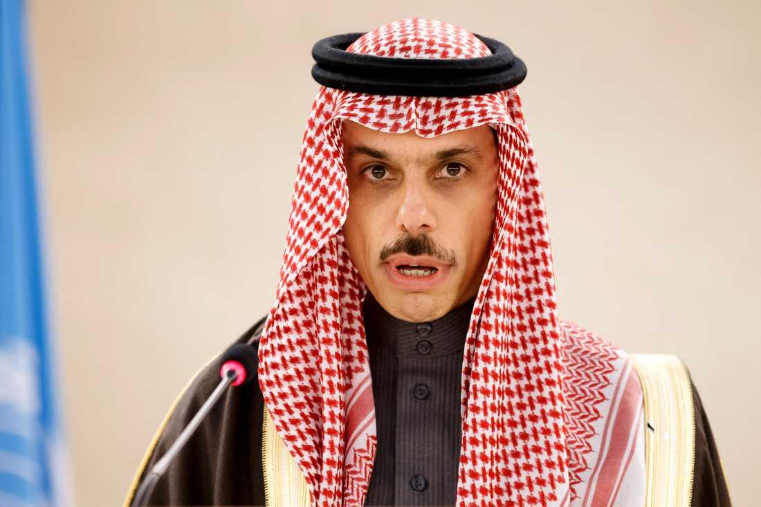 Ann Linde ska träffa Saudiarabiens utrikesminister Faisal bin Farhan Al-Saud. Arkivbild.