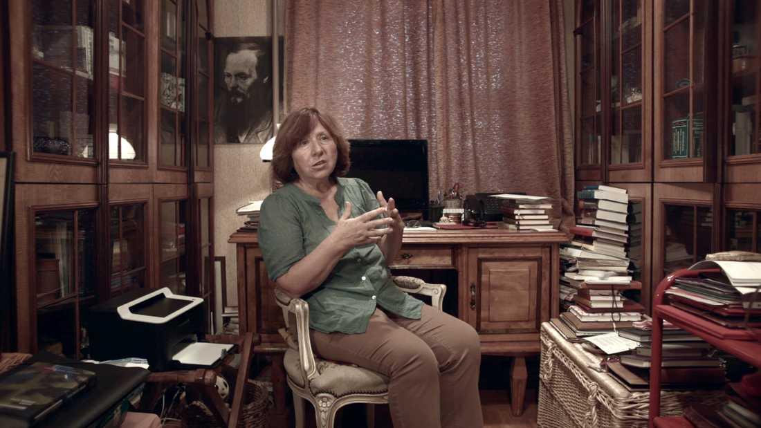 Svetlana Aleksijevitj. Arkivbild.