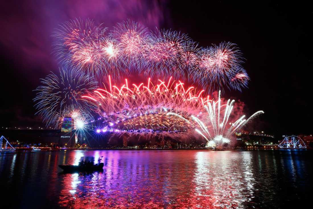 Miljontals personer ser Sydneys fyrvekerier varje år.