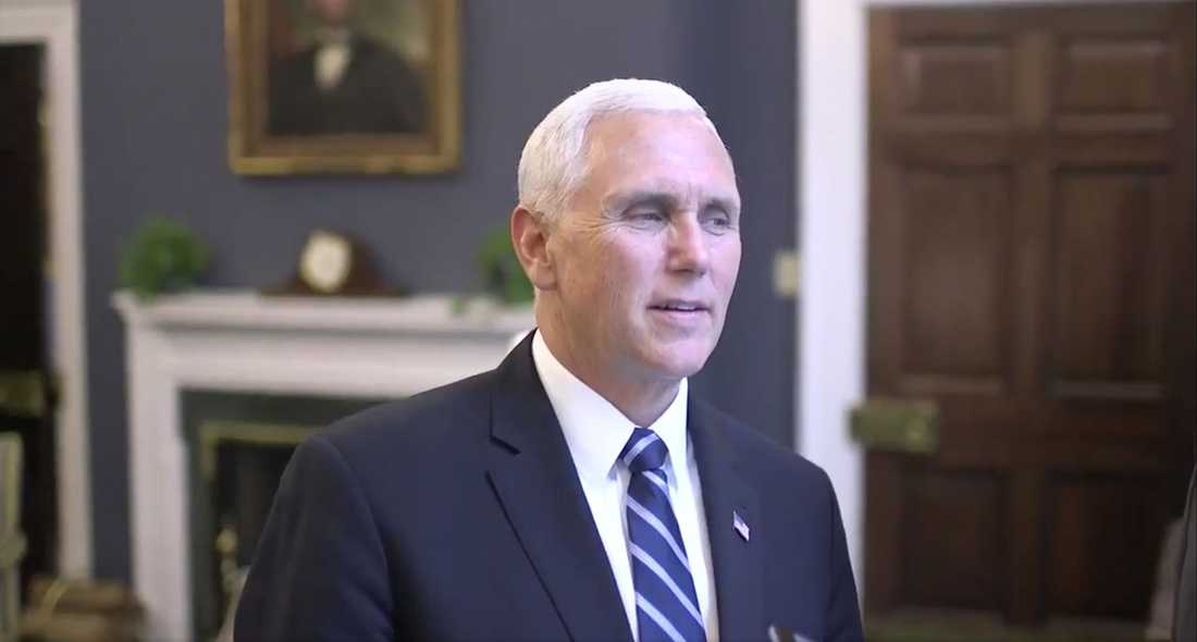 USA:s vicepresidenten Mike Pence.