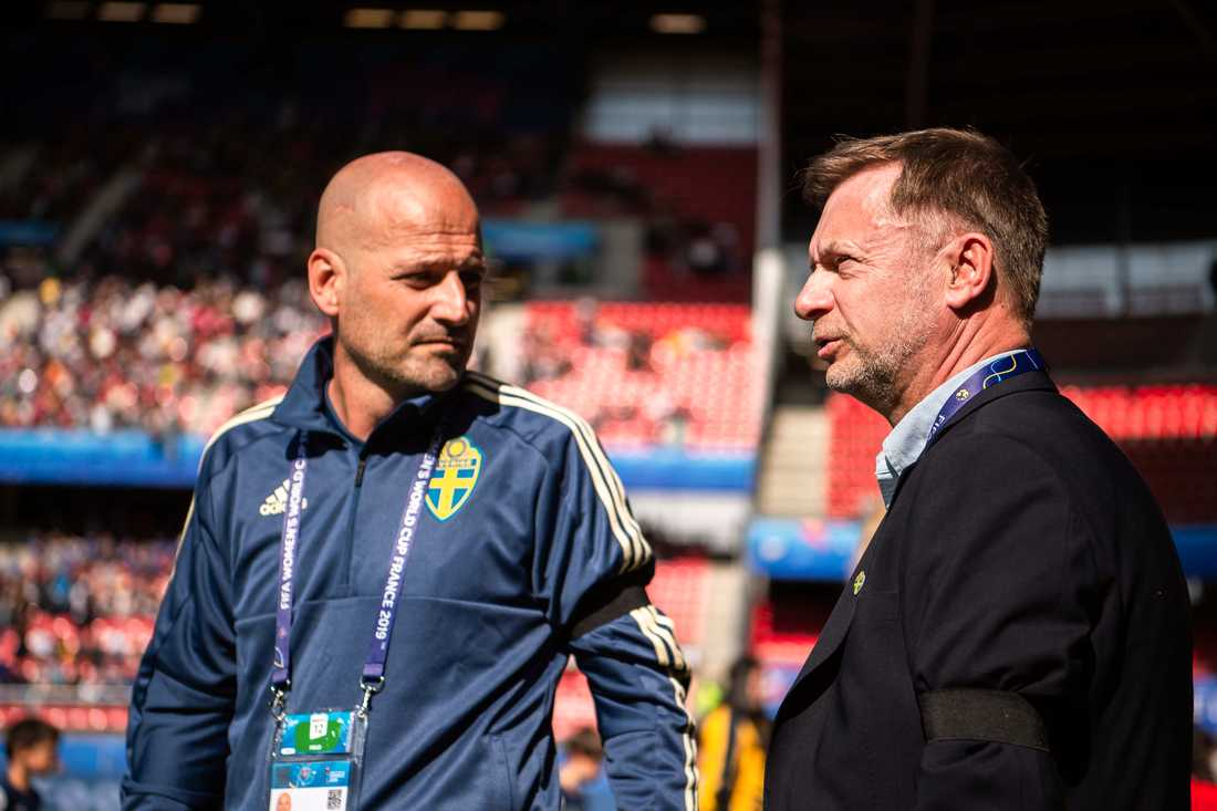 Wikman och Gerhardsson.