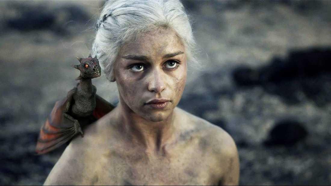 Khaleesi spelad av Emilia Clarke