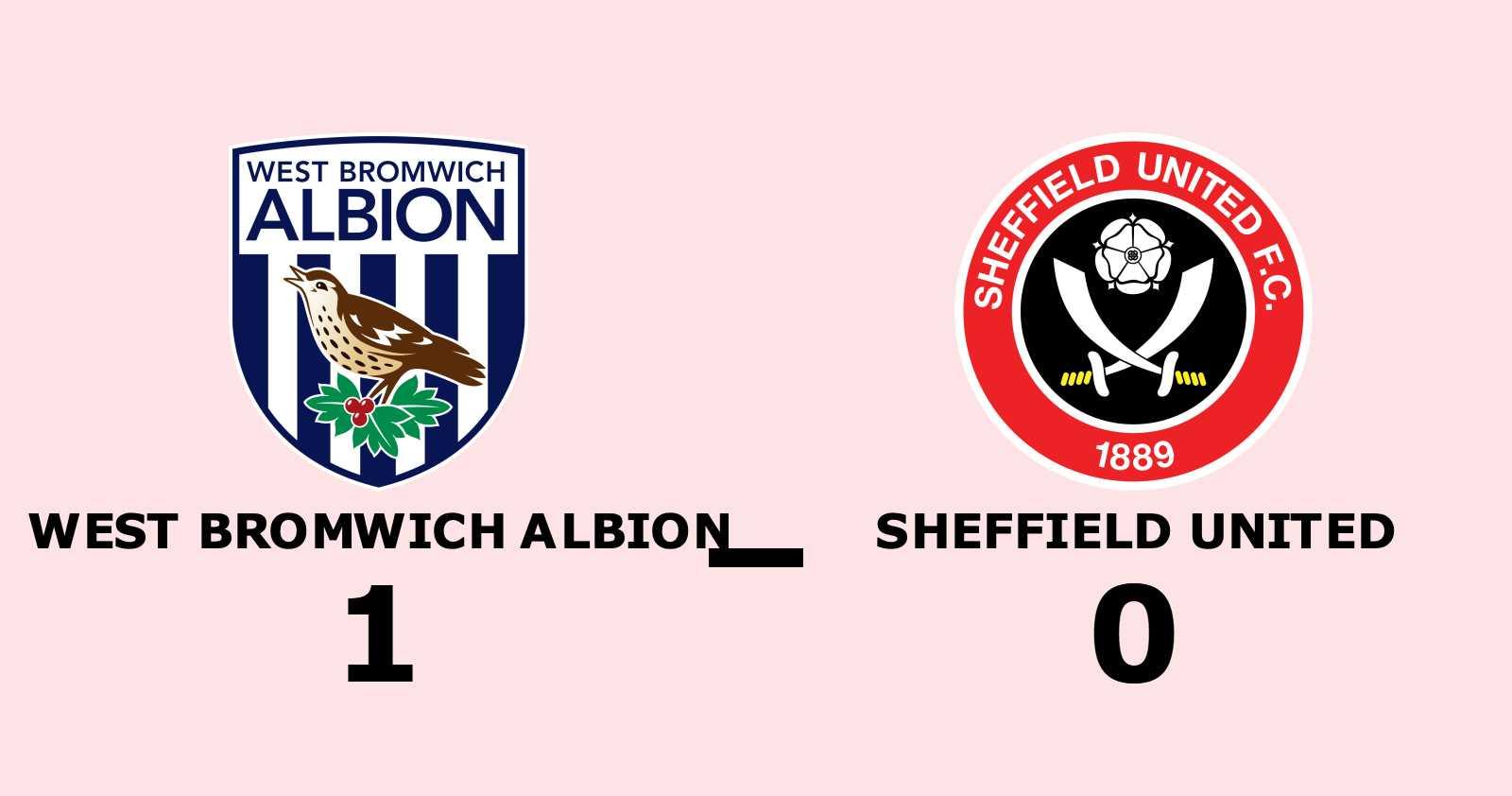Conor Gallagher matchhjälte för West Bromwich Albion hemma mot Sheffield United