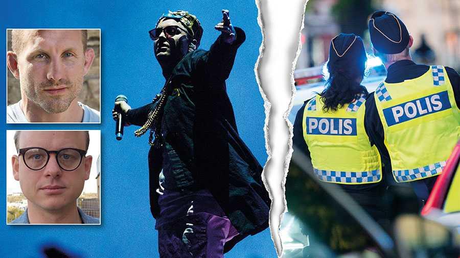 """Rapparen Frej Larsson fälldes i hovrätten för hot mot tjänsteman i sin låt """"Då ska hon skjutas"""" – men i Högsta domstolen friades artisten. Nu behövs ny lagstiftning som stärker skyddet för tjänstemän, skriver Martin Marmgren och Niklas Thidevall."""