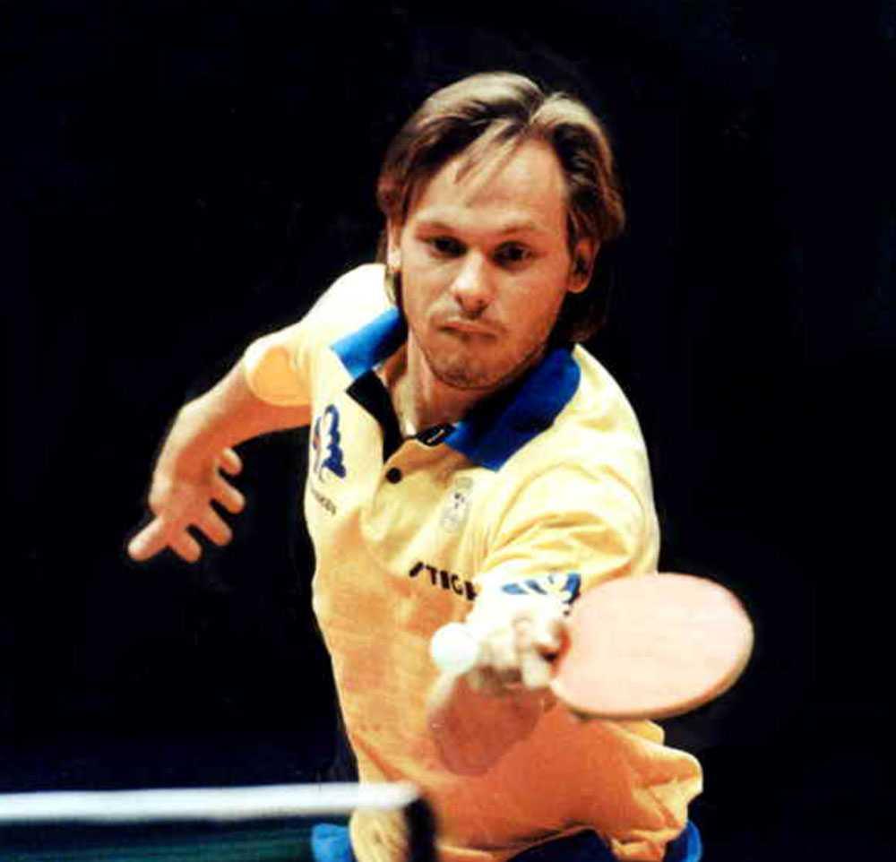 """""""Äpplet"""" är en av svensk pingis största med tre EM-guld och fyra VM-guld"""