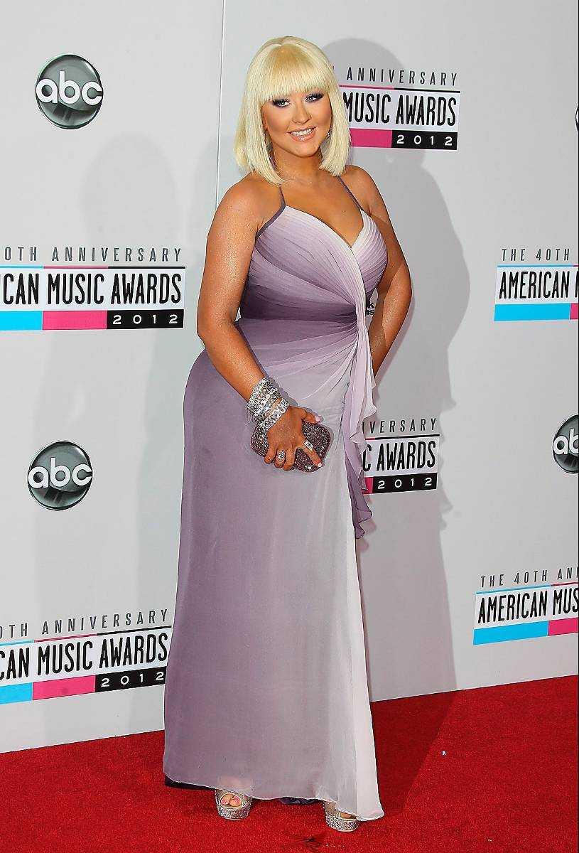 Aguilera själv trivs med sin nya kropp: – Jag är stolt över dem, säger Christina om de nya kurvorna.