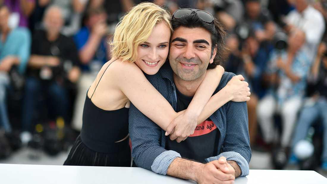 """Bästa skådespelare –Diane Kruger i Fatih Akins (t h) film """"Aus dem nichts""""."""
