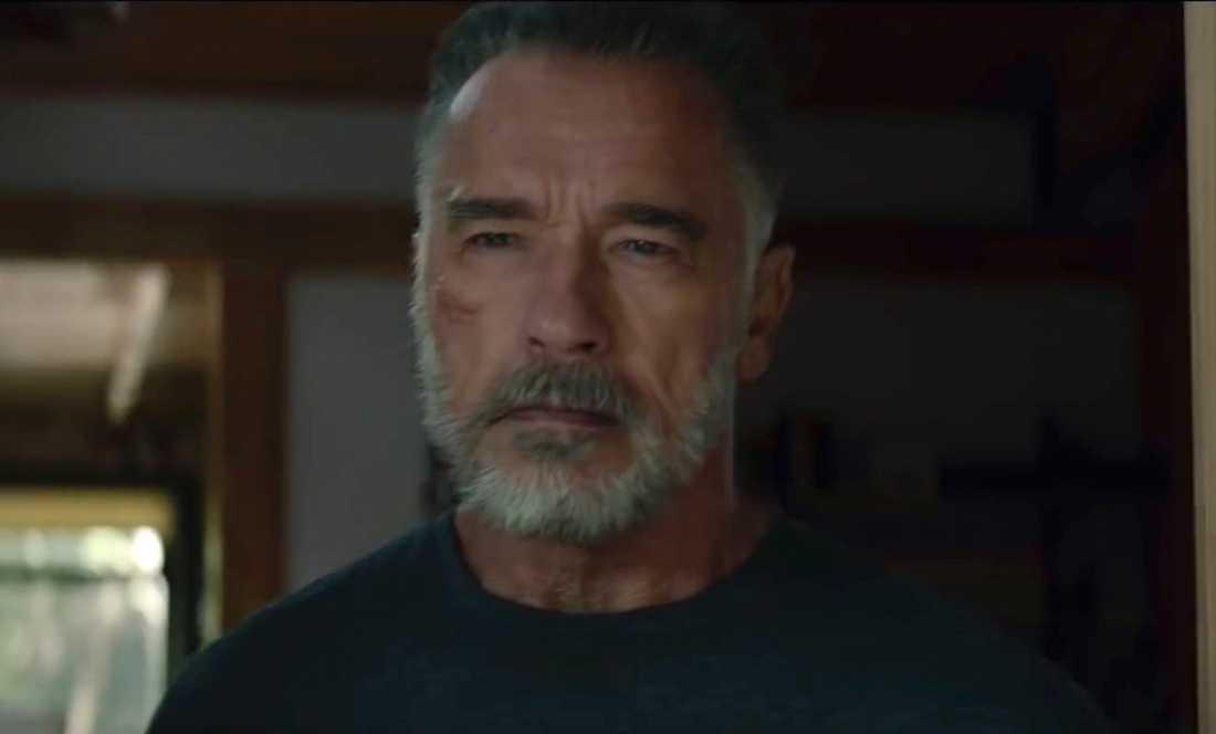 """Arnold Schwarzenegger i """"Terminator: Dark fate""""."""