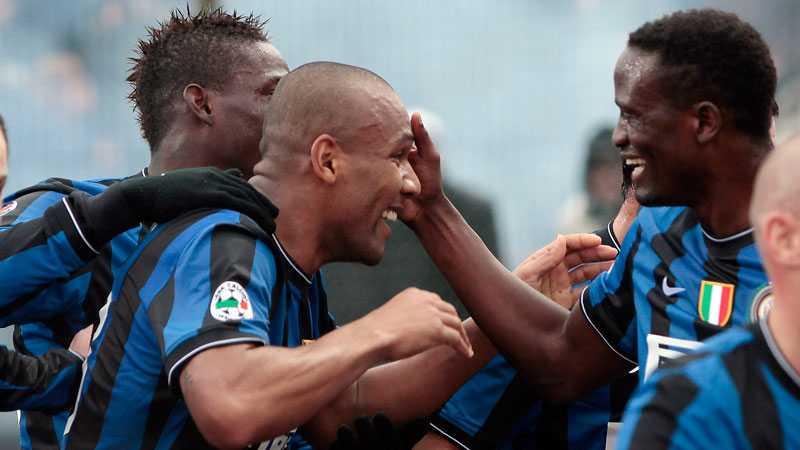 Inter kunde äntligen fira en seger igen.