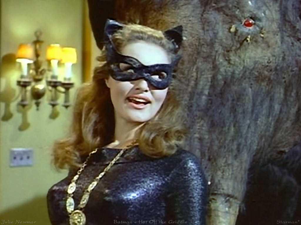 """Julie Newmar """"Batman"""" (tv-serie 1966–1968)."""