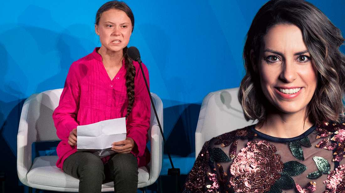 Nina skriver om hatet mot Greta Thunberg.