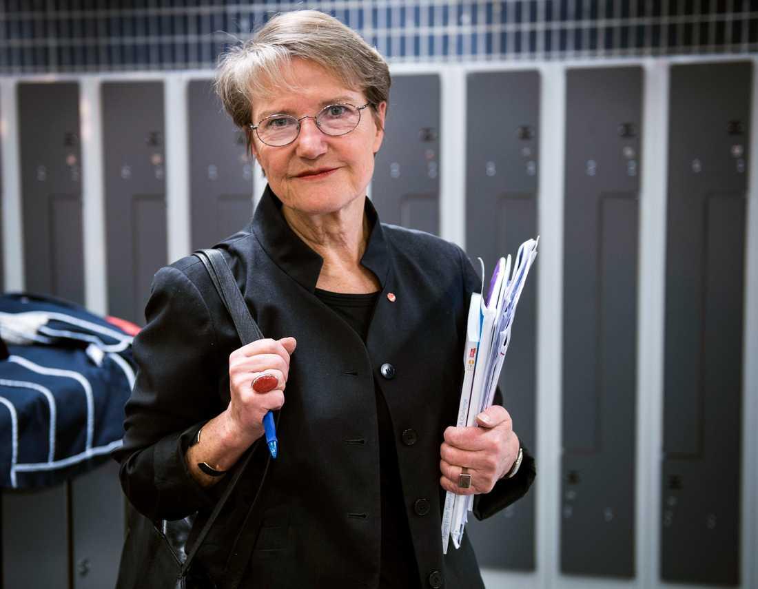 """Framtidsminister Kristina Persson vill använda sig av """"mjuk"""" makt."""
