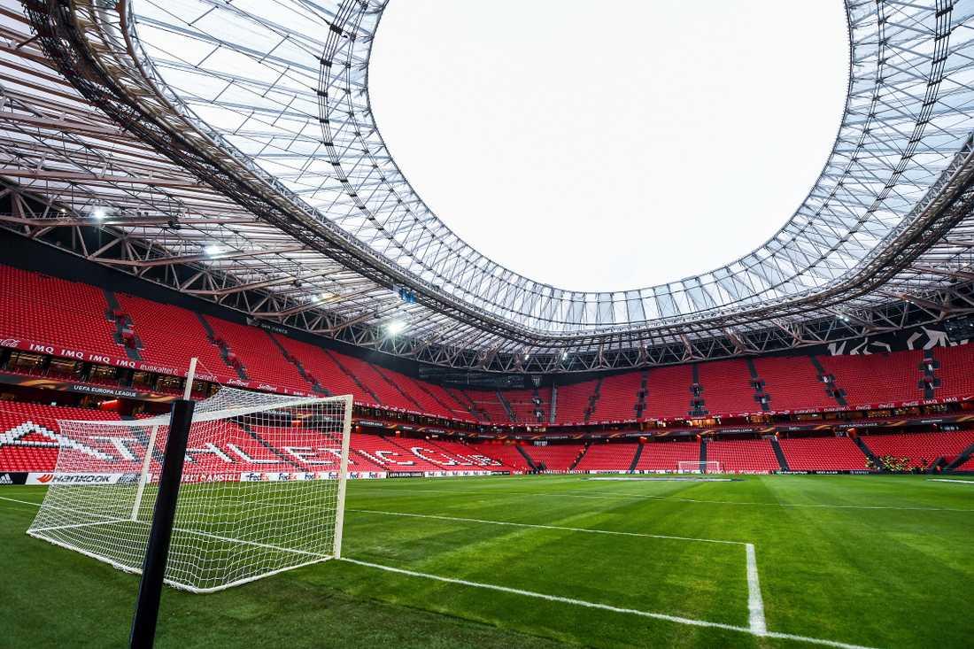 San Mames Stadium, Bilbao. Kapacitet: 53 000. Byggår: 2013.
