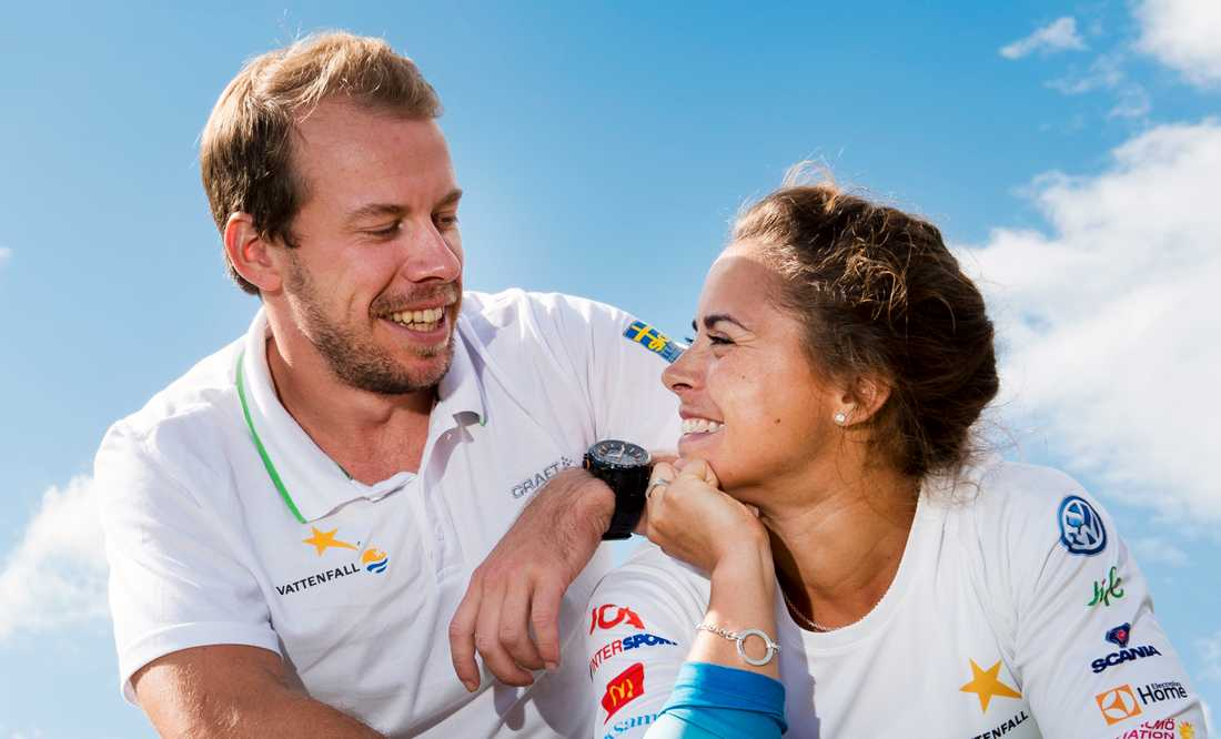 Jönsson och Haag byter efternamn efter bröllopet.