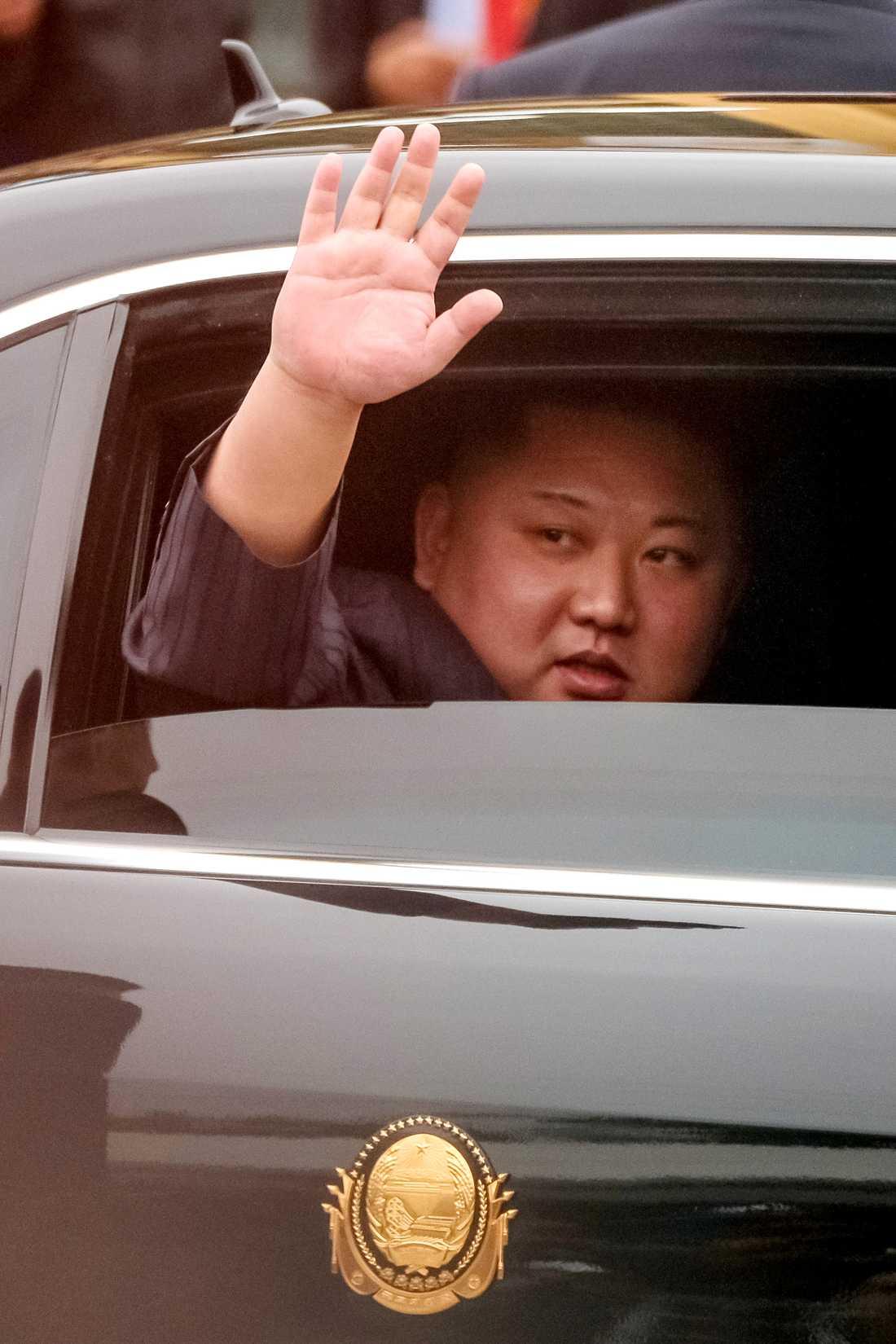 Kim Jong-Un har anlänt till Vietnam.