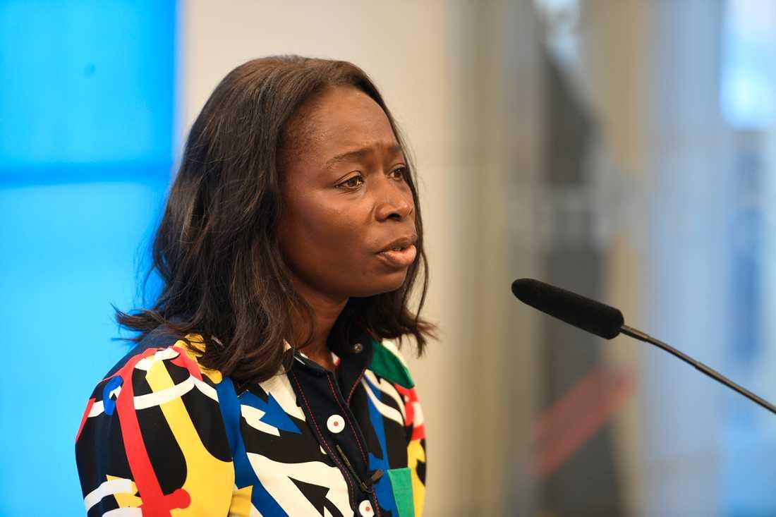 Nyamko Sabuni intervjuades i SVT och Dagens Industri om Liberalernas skandal.