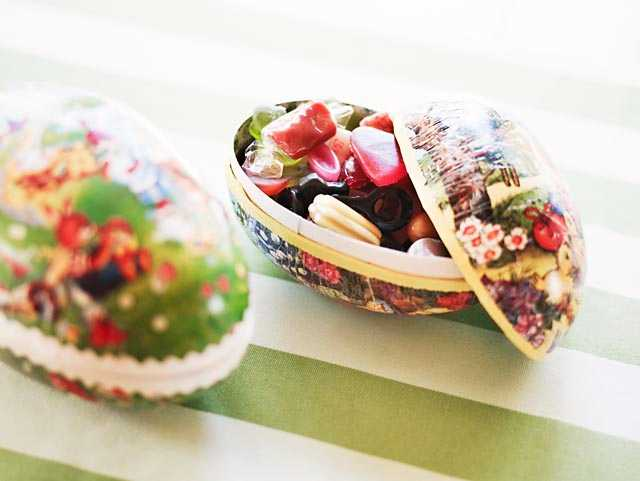 Svenskarna älskar påskgodis - under påsken säljs 64 procent mer godis än en genomsnittsvecka.