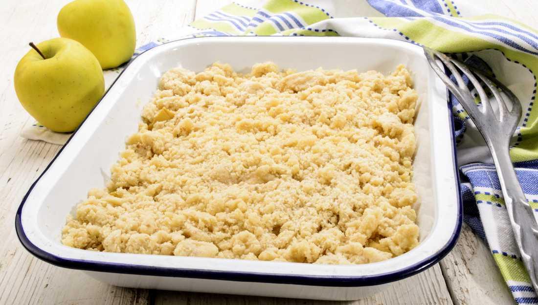 Äppelpaj – recept med havssalt