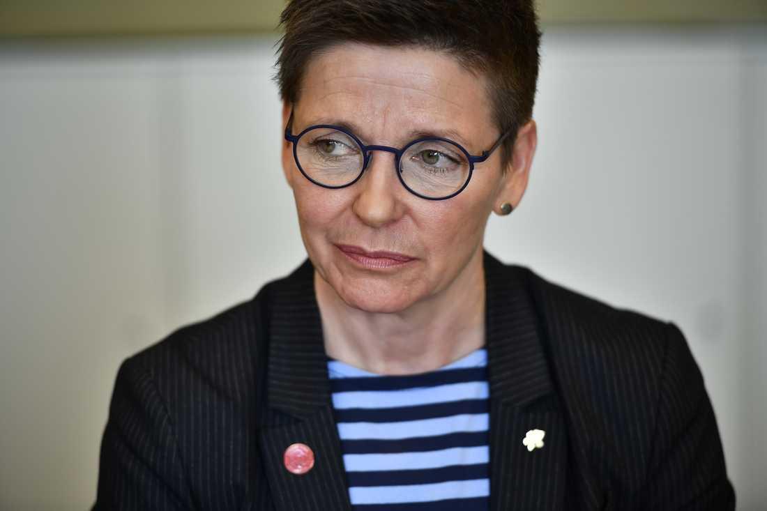 Ann-Sofie Hermansson (S) var ordförande i Göteborgs kommunstyrelse när hon skrev blogginläggen som förtalsmålet handlar om. Arkivbild.