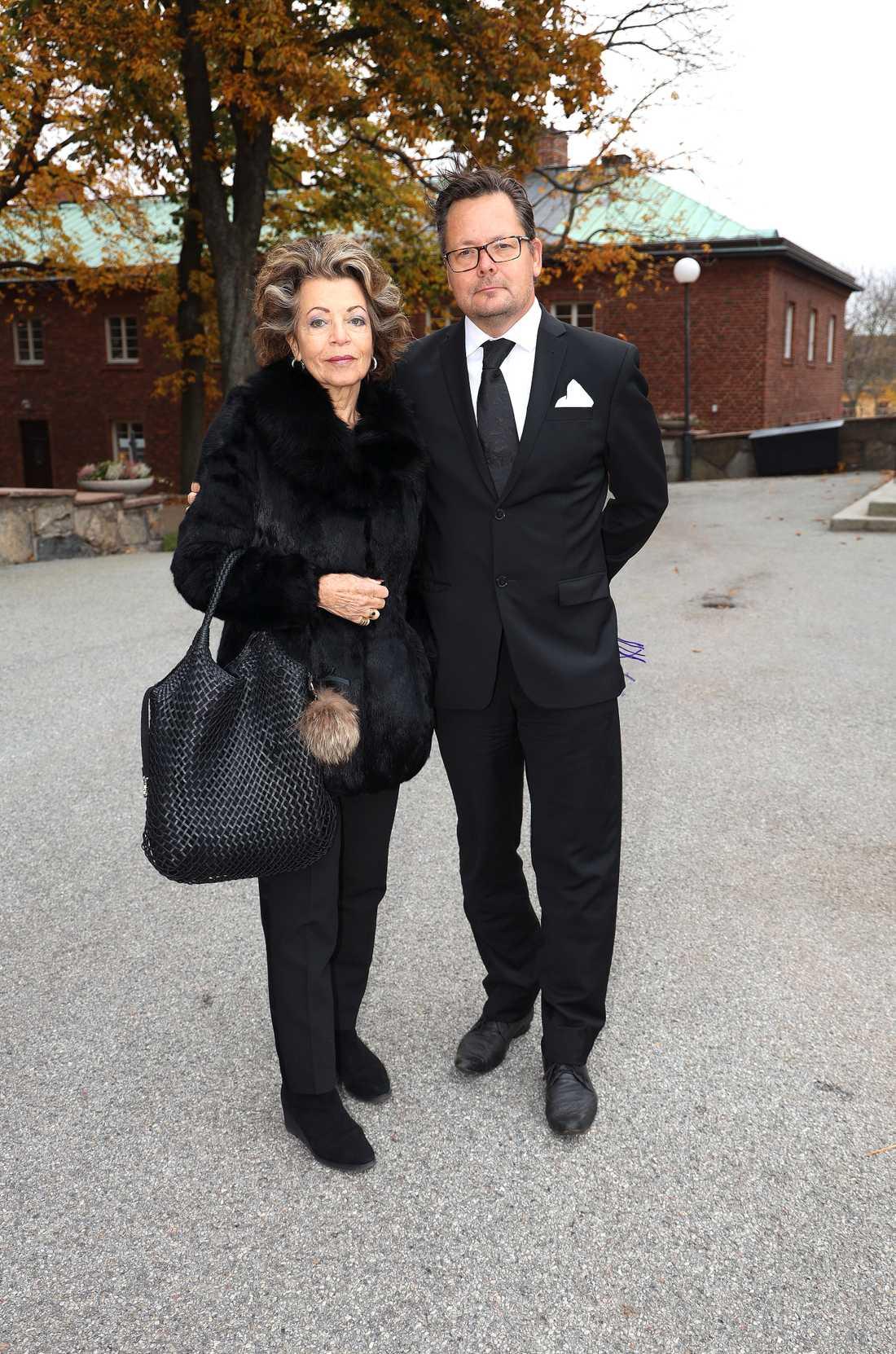 Yvonne Ekdahl och Mikael Aringsjö.