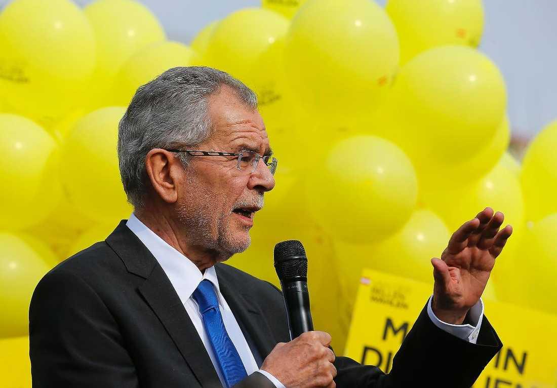 Alexander Van der Bellen  är Österrikes nye president.
