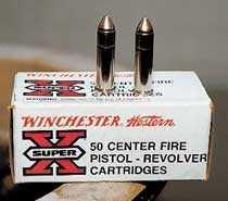 Ammunitionstypen som användes i Mockfjärdsvapnet, och vid Palmemordet.