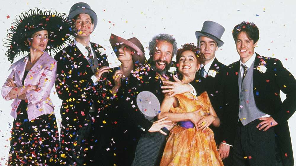 """""""Fyra bröllop och en begravning"""" (1994)."""