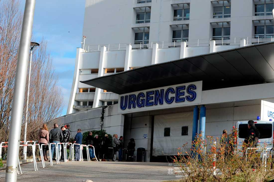 Sjukhuset i Grenoble i franska Alperna där Michael Schumacher vårdades för allvarliga skallskador.