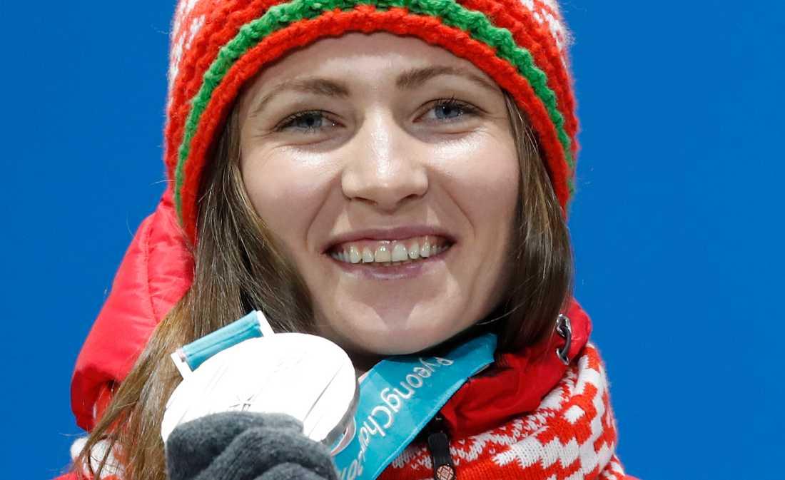 Skidskytten Darja Domratjeva har bland annat fyra OS-guld.