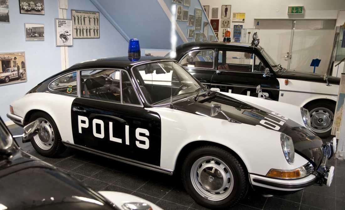 Porschepolisen var fartdåerarnas stora skräck.