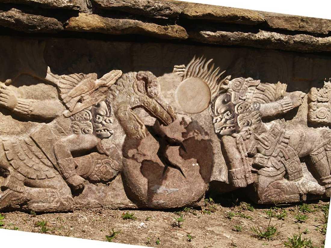 Om en vecka går jorden under – om man ska tro tolkningarna av den gamla Mayakalendern.