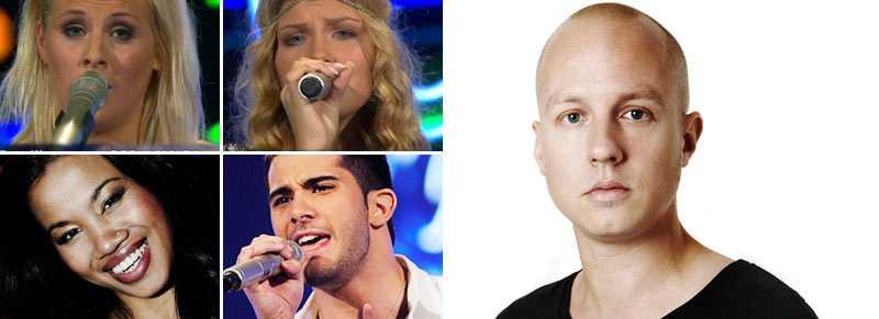 """Får läsarna se Camilla, Clara, Reza och Eddie i kväll? Martin Söderström rapporterar från """"Idol""""!"""