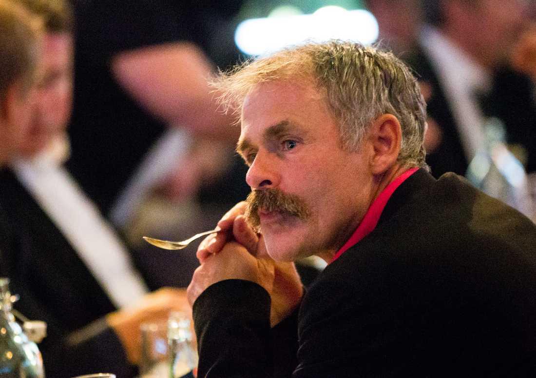 Anders Limpar hade svårt att hålla tårarna tillbaka under Ingesson-hyllningen på Fotbollsgalan.