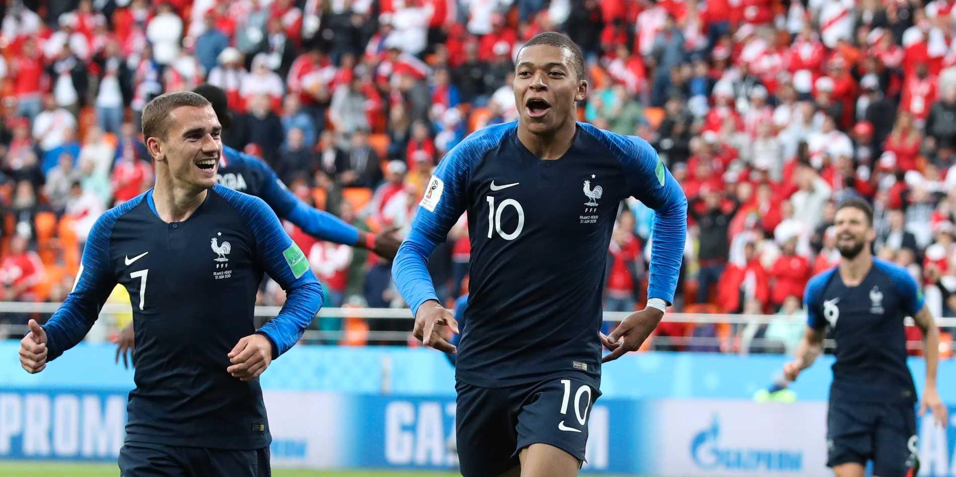 Räkna med att Frankrikes Kylian Mbappé kommat att synas i målprotokollet.