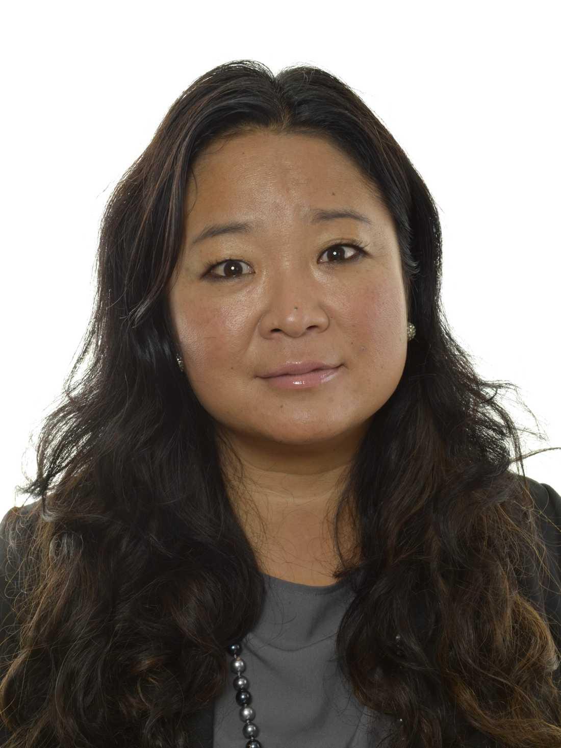 Jessica Polfjärd, gruppledare (M)