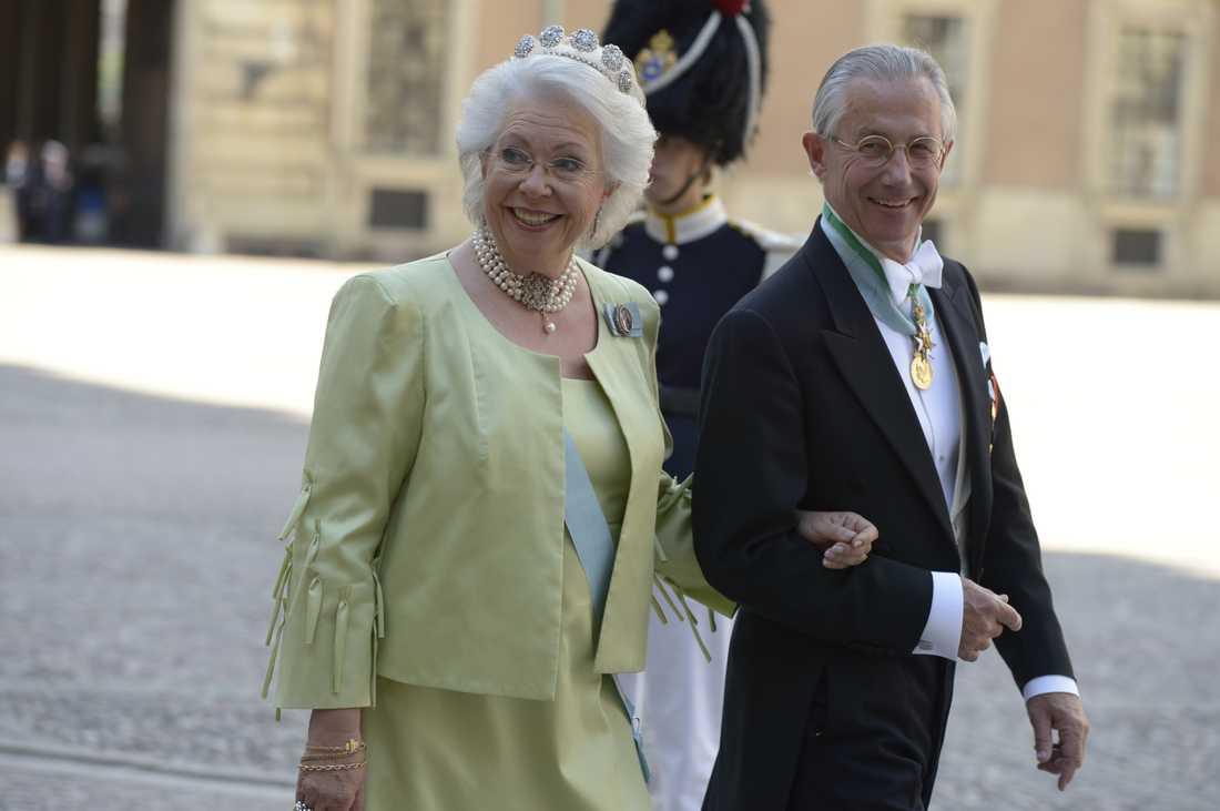 Prinsessan Christina, fru Magnuson, med maken Tord Magnuson.