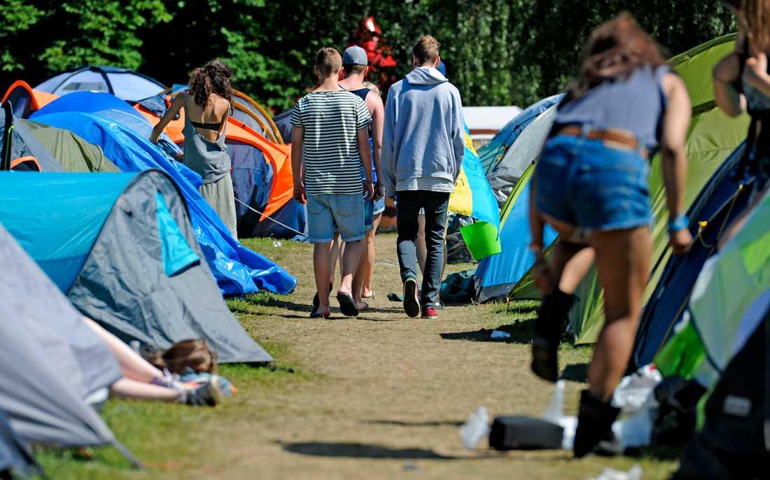 Peace & Love-festivalen 2012.