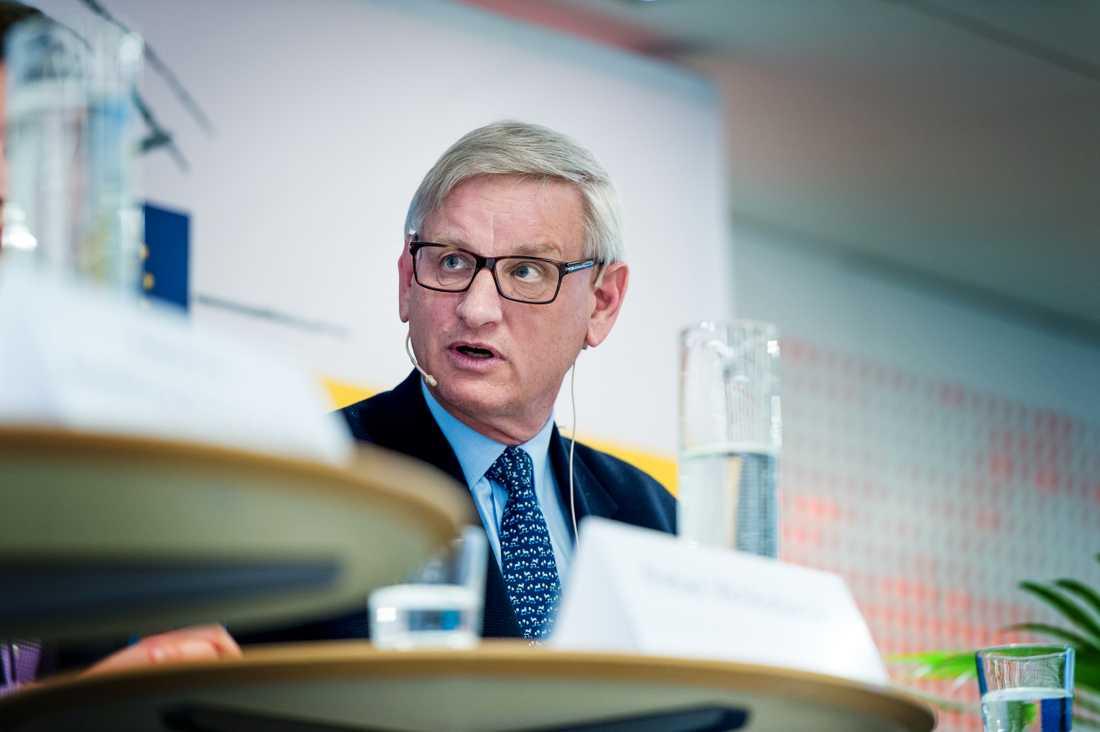 Carl Bildt (M) kommenterar den norska invandringsministerns uttalanden.