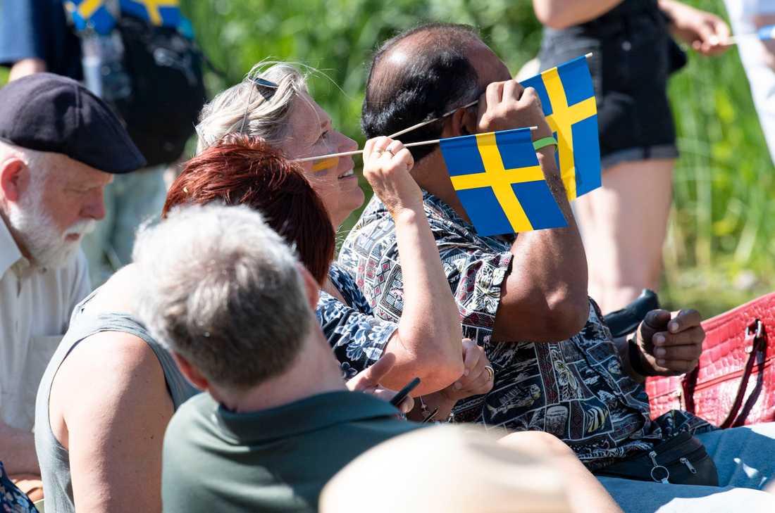 Sveriges nationaldag firas i Lund 2019. Arkivbild.