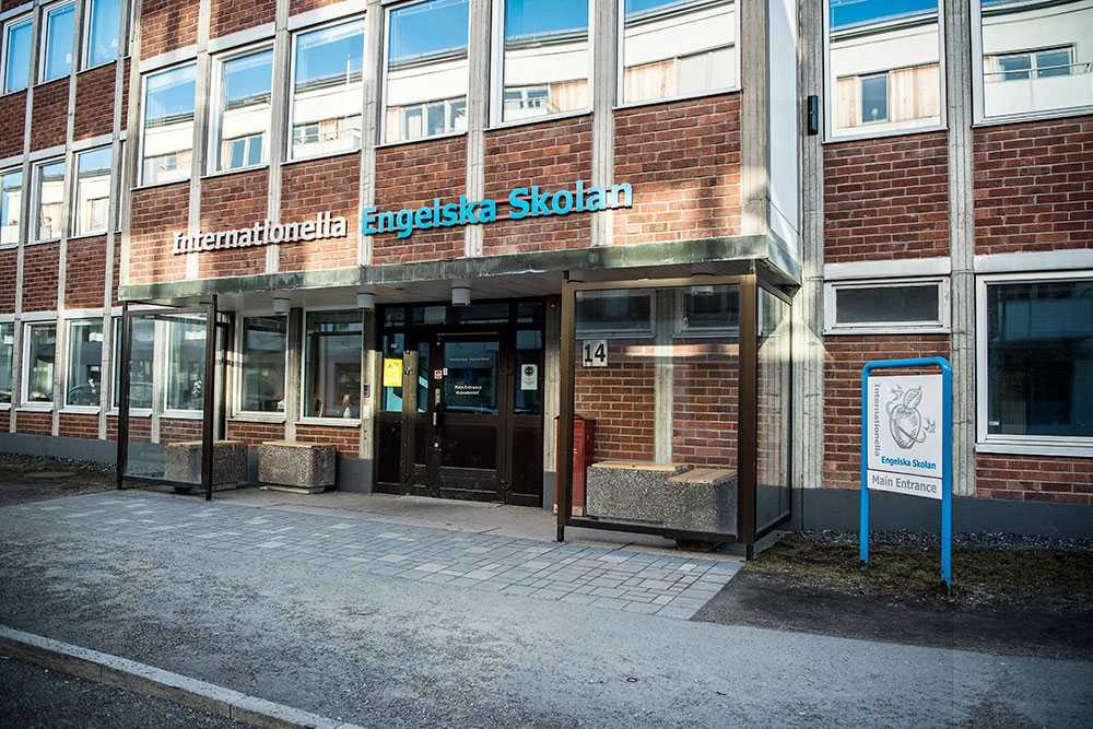 Internationella Engelska Skolan (entrévy från annan stad).