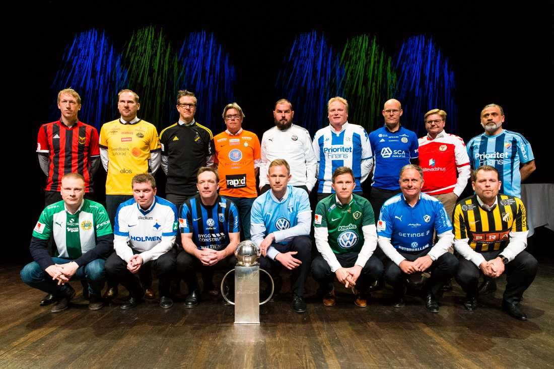 Alla tränare i allsvenskan 2017.