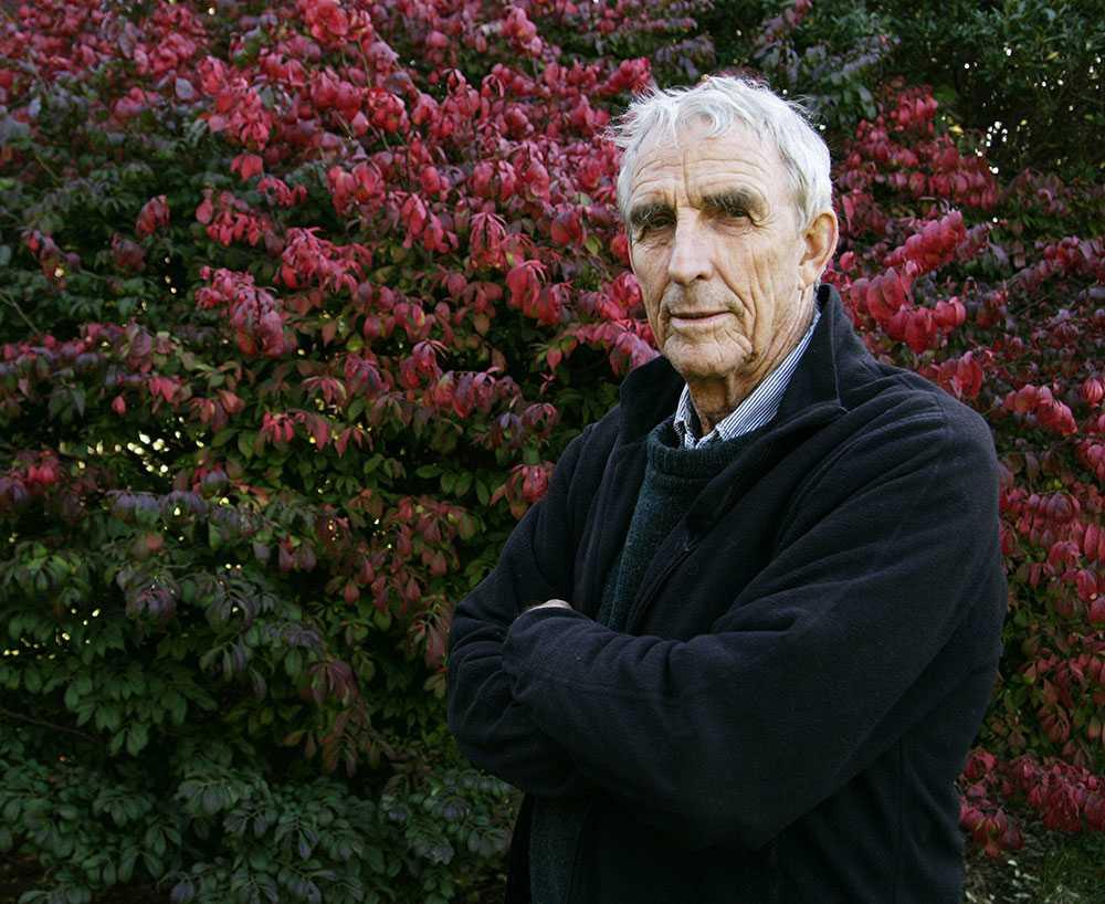 Peter Matthiessen Författaren blev 86 år gammal.