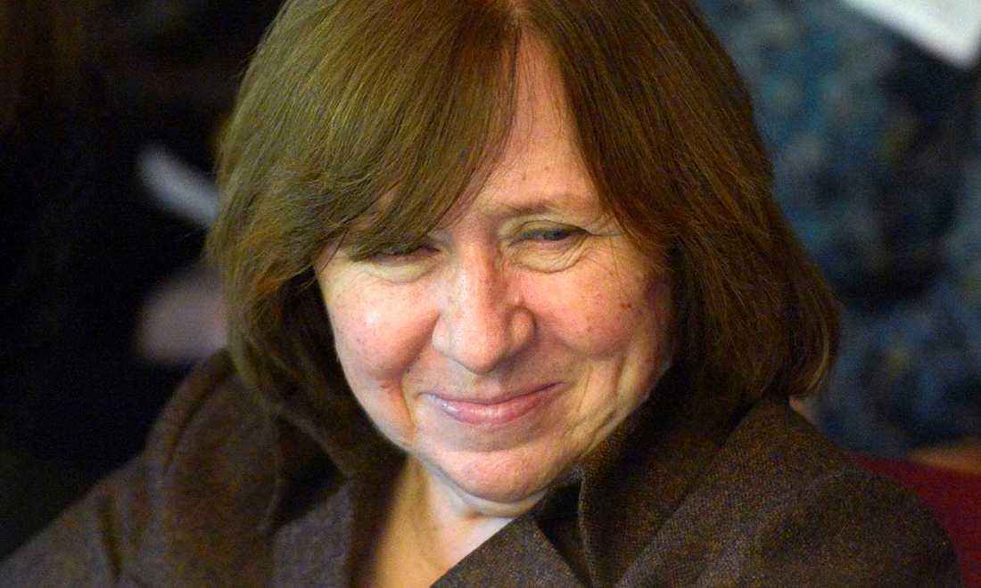 Svetlana Aleksijevitj gör en bok om kärlek –en process som blivit film av Staffan Julén.