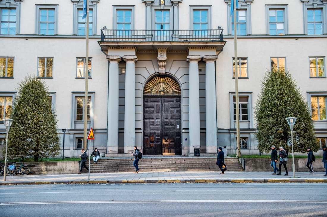 Handelshögskolan i Stockholm är ett av de svenska lärosäten som ingår i EU-samarbetet European Universities. Arkivbild.