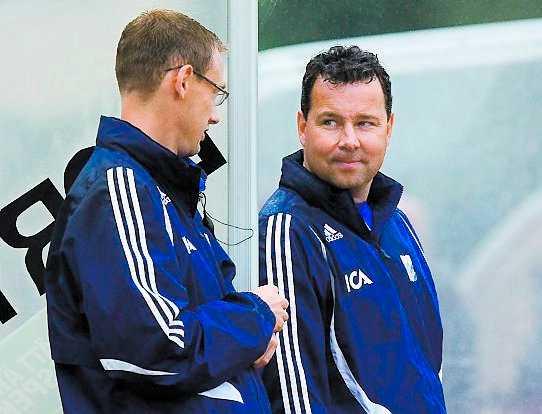 Överraskad IFK Göteborgs tränare gillar inte Daniel Örlunds uttalande.