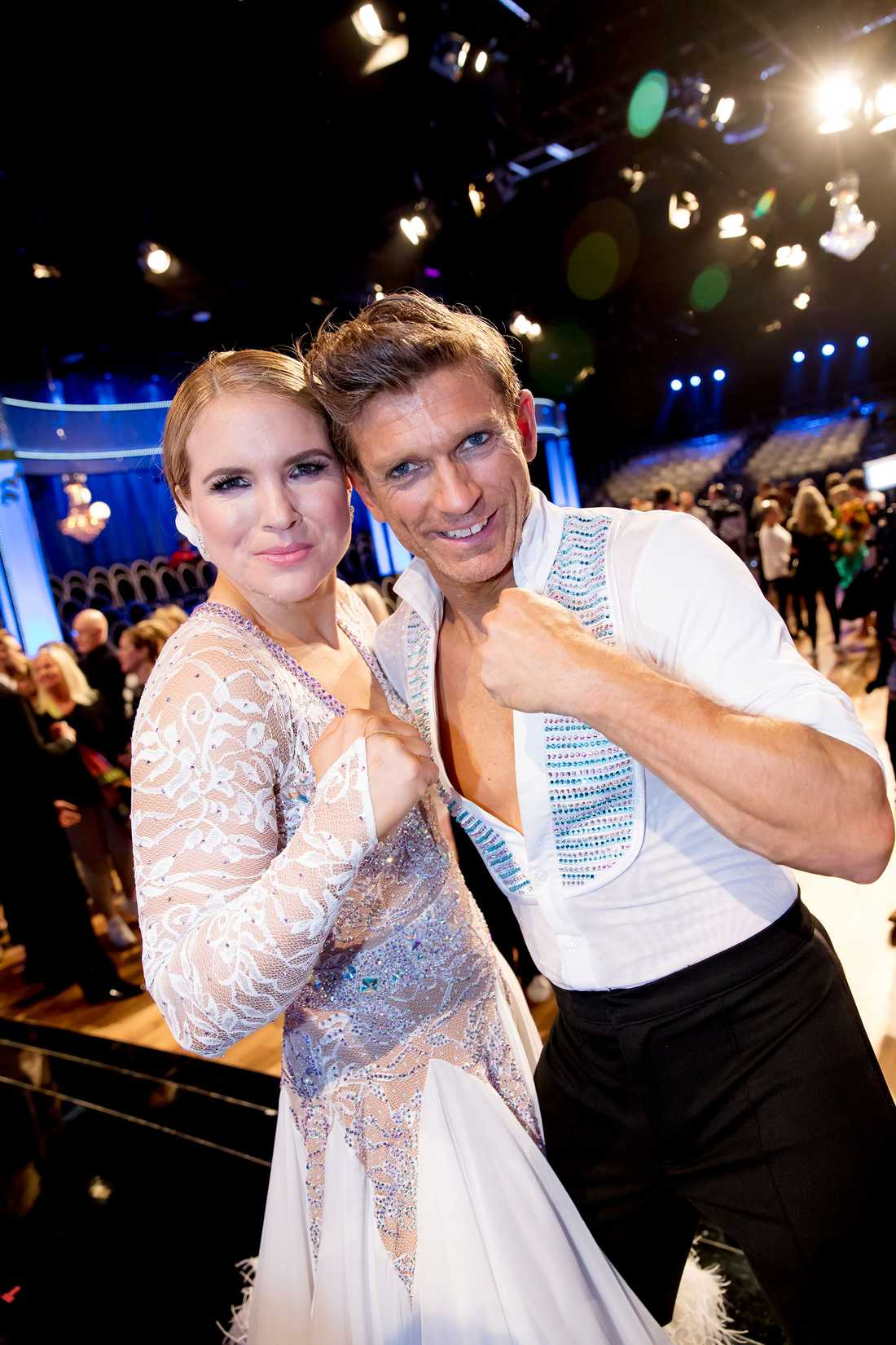 Nu är det dags för final! Det står mellan Anja Pärson och Jesper Blomqvist.