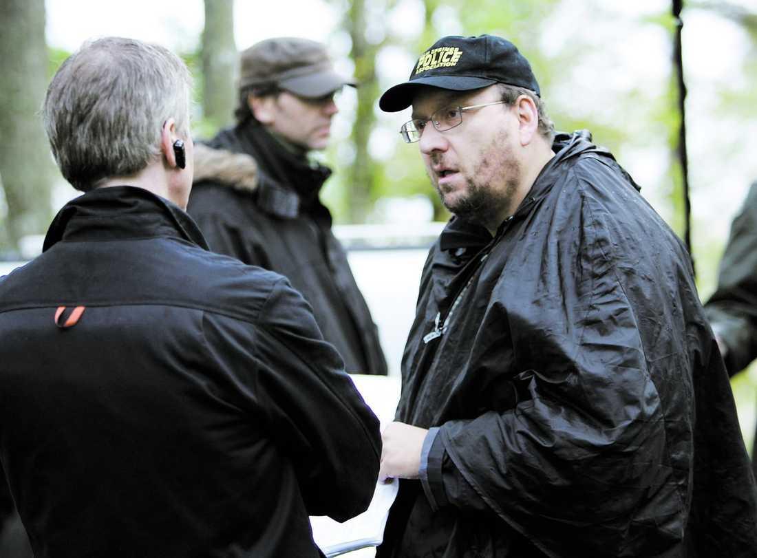 """Regissören Anders Nilsson är förbannad på SF som inte låter hans film """"Johan Falk – GSI"""" gå upp på de stora salongerna."""