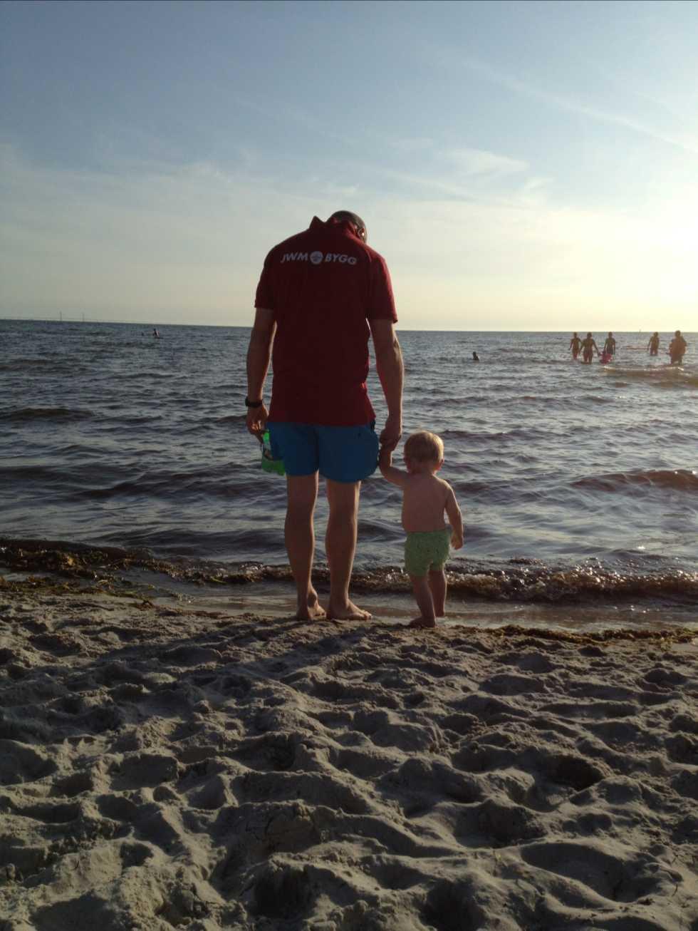 Min sambo och min son