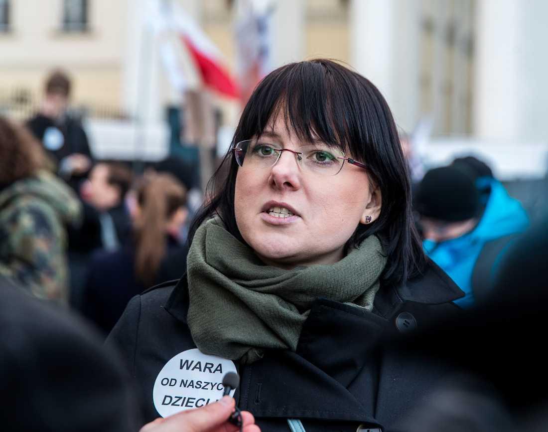 Kaja Godek, kandidat till EU-parlamentet.