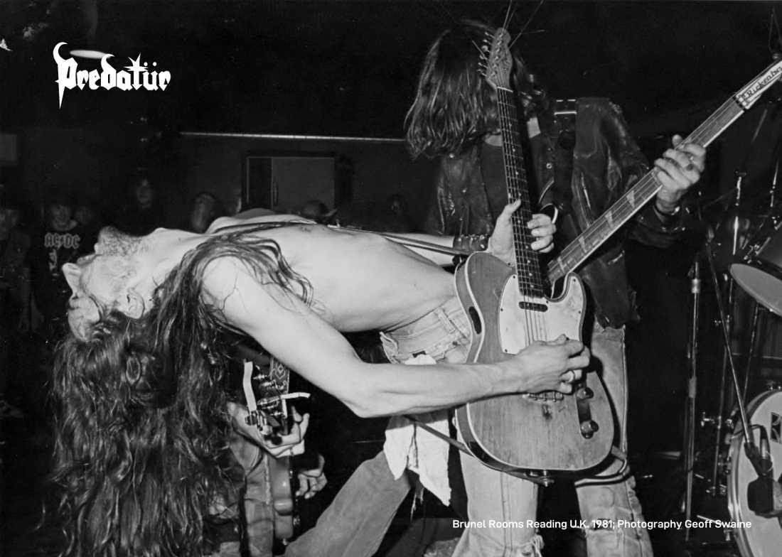 """Total arbetarklass-rock'n'roll. Samlingen """"Jobcentre rejects"""" består av hårdrockband som i vissa fall bara hann ge ut en vinylsingel i ett hundratal exemplar. På bilden: Predatür."""